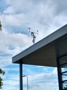 Pedak weerstation in Heythuysen